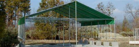 canopy kits poly tarps  frame fittings creative shelters
