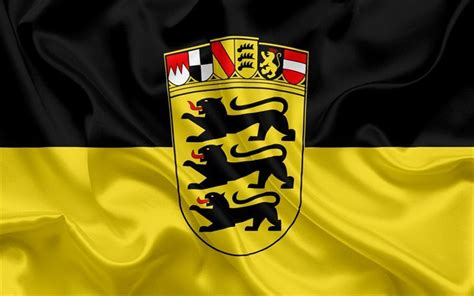 From cuckoo clocks to black forest gateau, from mercedes to porsche. Download wallpapers Flag of Baden-Württemberg, Land of ...