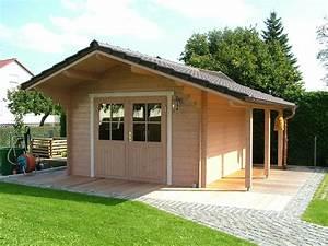Holzhaus Für Garten : gartenhaus blockhaus blockbohlenhaus ~ Whattoseeinmadrid.com Haus und Dekorationen