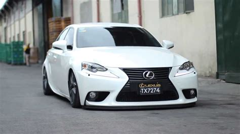 bagged lexus is250 car racing lexus is350 bagged and dropped youtube