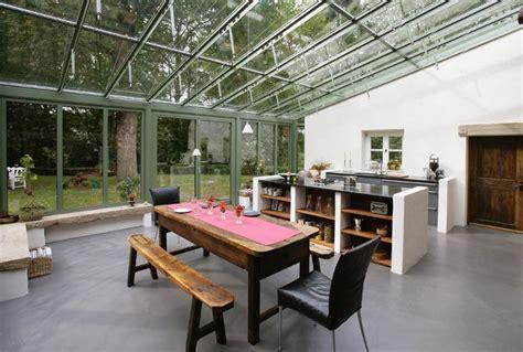 cuisine veranda comment créer une cuisine dans une véranda habitatpresto