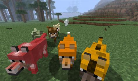 [1.7.10-1.7.2] [forge] More Wolves Mod