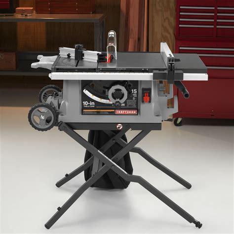 craftsman 10 table saw parts craftsman 15 10 quot portable corded table saw 21806
