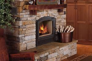 Two Sided Fireplace Insert by High Efficiency Hybrid Woodburning Fireplaces