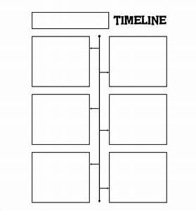 Blank Timeline Worksheet  Timeline Template For Kids