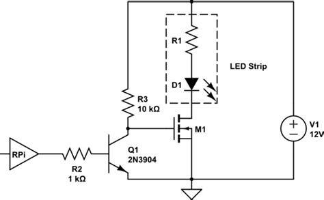 Power Supply Current Limitations Mosfet