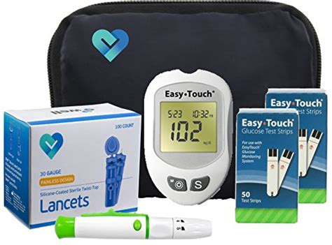 Easy Touch Diabetes Testing Kit, 100 Count  Easy Touch
