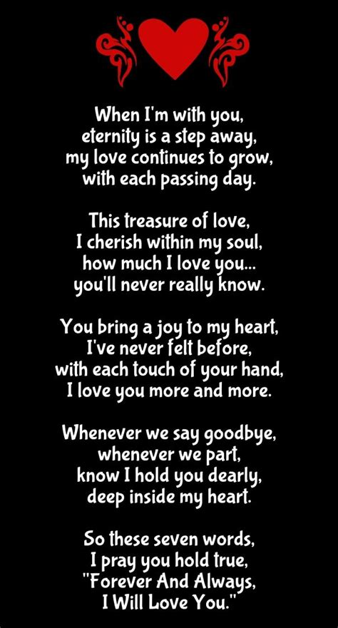 pin  missy warrix  quotes love poem   long