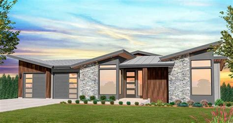 Plan 85248MS: Exclusive Modern House Plan with Vaulted