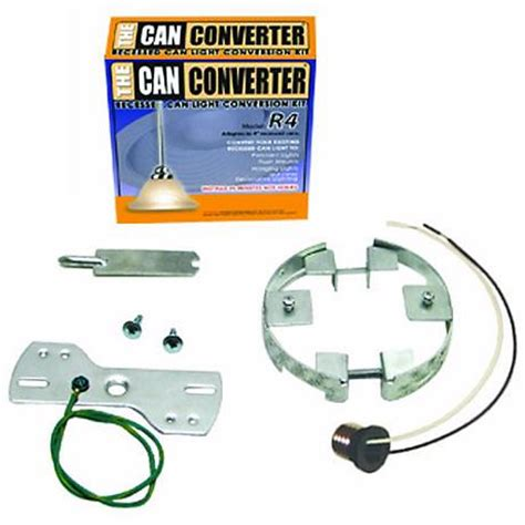 recessed light conversion kit 4 quot can converter recessed can light converter kit 52893