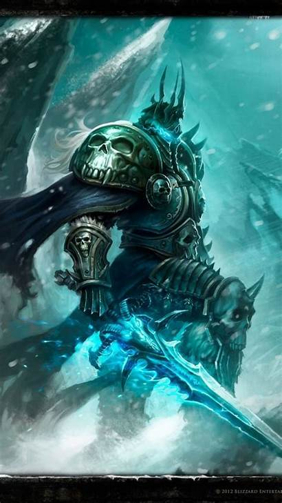 Warcraft Lich King Mobile Wrath Wallpapers Wow