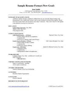 new grad nursing resume clinical experience sample professional letter formats resignation letter