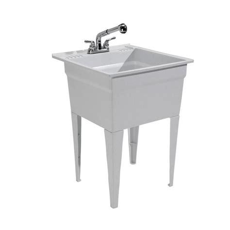 Utility Sink by Cashel 23 75 X 24 75 Granite Freestanding Polypropylene