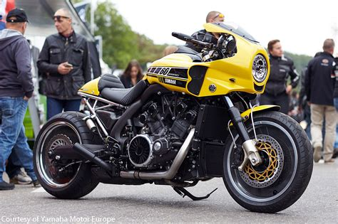 Yamaha Motorcycles : Liberty Yam Of France Custom Vmax V-speed Cafe Dragster