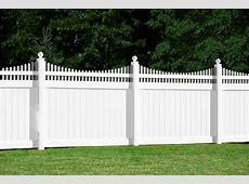 White Vinyl Fence Panels Home Depot Design & Ideas