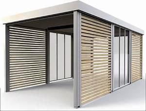 Fertiggaragen Aus Holz : flexibles garage carpot system varia von overmann ~ Articles-book.com Haus und Dekorationen