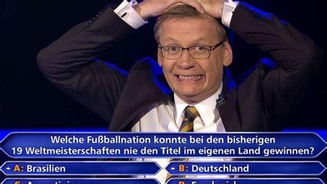 It is shown on the german tv station rtl. Wer wird Millionär? Die schönsten Blackouts und Patzer ...
