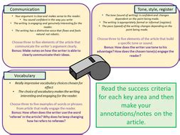 aqa english language paper  question  june  review teaching resources