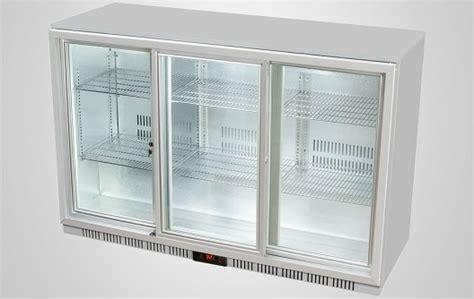 bar refrigerator sliding door procool refrigeration