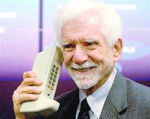 Martin Cooper First Cell Phone