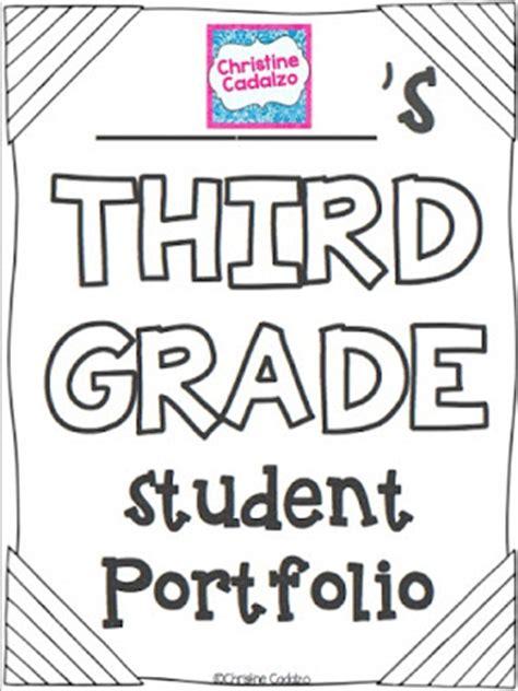 teach  elementary student portfolios