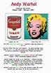 Andy Warhol Artist Fact Sheet for Kids | ART EDUCATION ...