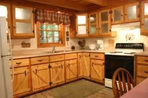 barn door style kitchen cabinets 17 best images about log cabin kitchens on 7598