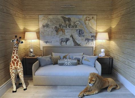 Safari Themed Bedroom safari themed boys bedroom transitional boy s room