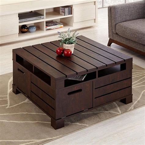 wooden table ls for living room cool wooden tables furniture can do it yourself at home