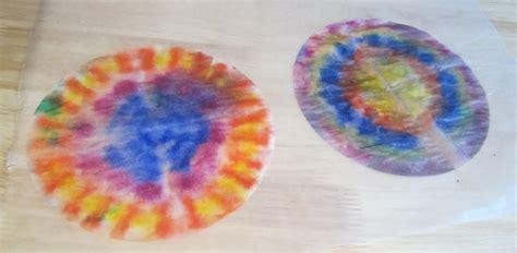 And some food coloring, water and a dish. Drawing near