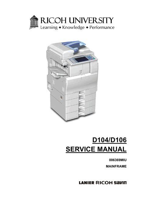 How To Fix Print Quality Problem Ricoh Mp 201 Printer