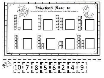 pokemon math  literacy pack  kindergarten  images