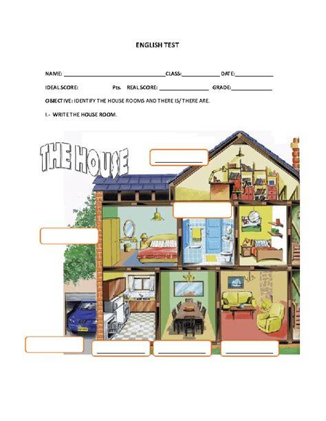 houseflatrooms worksheets
