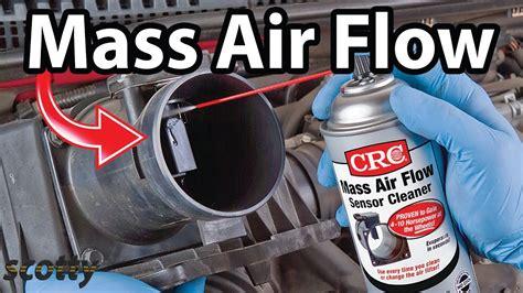 clean mass air flow sensor  stop car hesitation
