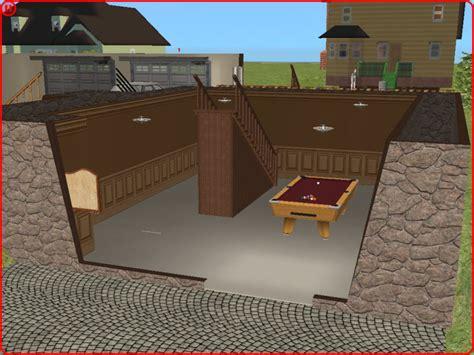 mod  sims split level  walkout basement