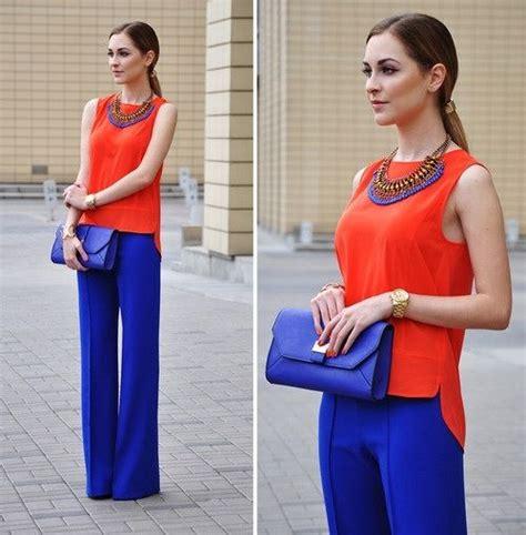 Outfits con color azul rey (25) - Curso de Organizacion ...