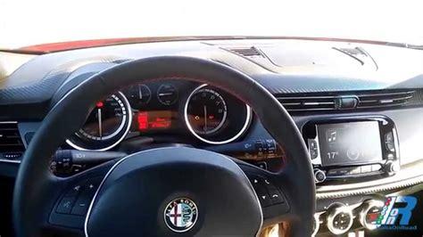 Interni Alfa Giulietta by Prova Interni Alfa Romeo Giulietta Sprint Test Drive