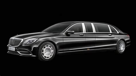 2019 Mercedesmaybach S650 Pullman Breaks Cover With New