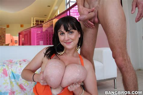 Incredibly Busty Beverly Paige Gives Oral Sex And Plays
