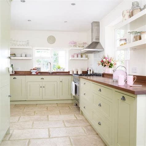 country kitchen floor tiles take a tour of a modern country kitchen makeover 6063