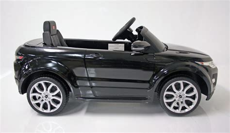 Electric Car Range by Electric Car Range Rover Evoque 12v Black Jeeps