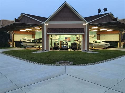 Garage Hangar by Efficient Use Of Space Possible Through Creative Use Of
