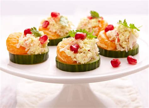 crab canapes ricotta crab canapés recipe dairy goodness
