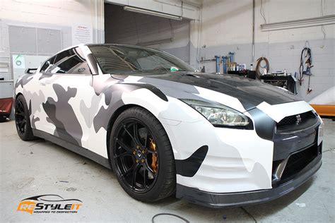 custom arctic camo wrap vehicle customization shop vinyl car wrap car wrap in toronto miami