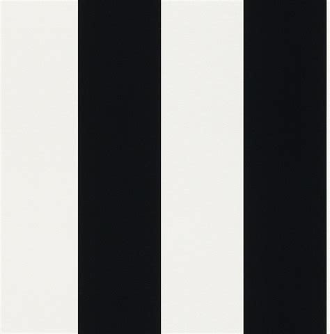 rasch bold black  white wide stripe wallpaper