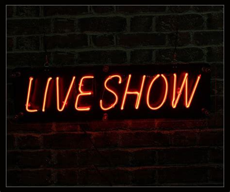show neon sign