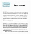 25+ Sample Event Proposal Templates – PSD, PDF, Word ...