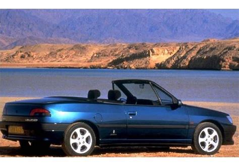 amazing peugeot 306 cabriolet peugeot 306 cabriolet 1 8 photos and comments www