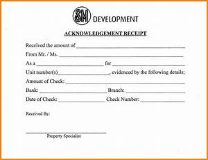 10+ acknowledgement receipt for payment formal buisness letter