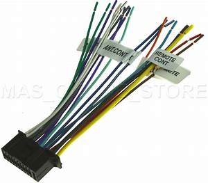 22pin Wire Harness For Kenwood Ddx